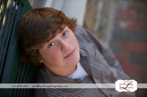 ellicott city senior portrait photographer