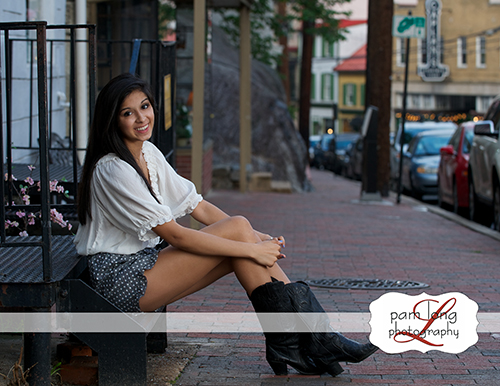 Centennial High School senior photographer Ellicott City