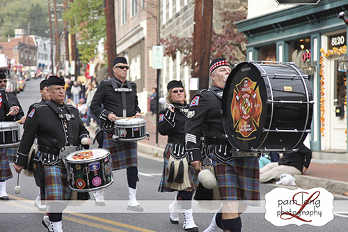 The Fire Brigade Pipes and Drums Ellicott City Photographer