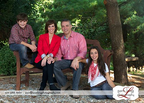 Outdoor Family photographer Ellicott City photgoraphy studio