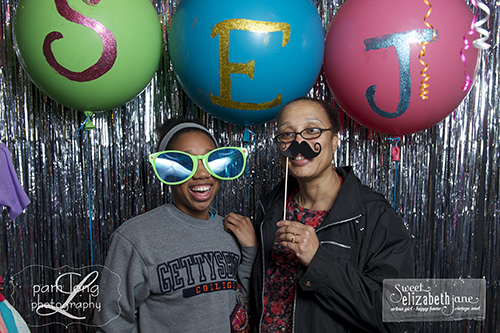 Birthday party Photo booth Ellicott City photographer