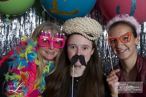Birthday party photobooth Ellicott City photographer 2