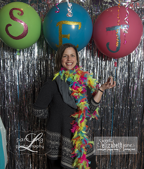 Fun birthday party photo booth Ellicott City photographer