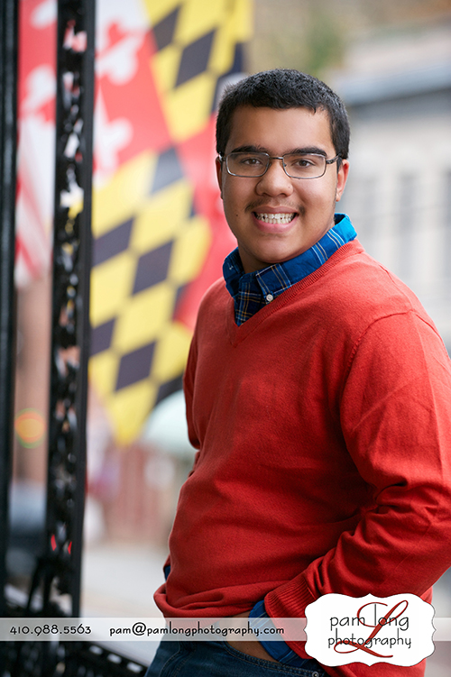 High school senior photographer Ellicott City Maryland MD