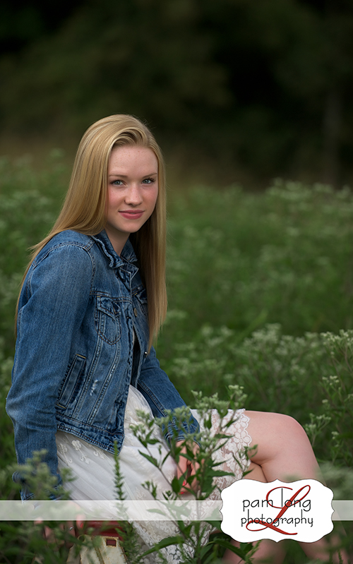 Howard County Outdoor high school senior portraits Ellicott City