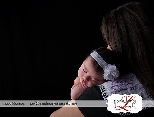 newborn portraits Ellicott City photographer