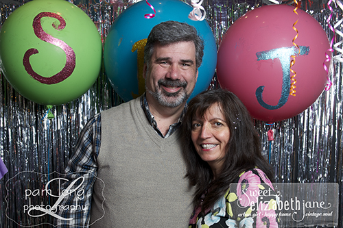 photobooth Ellicott City birthday party Sweet Elizabeth Jane