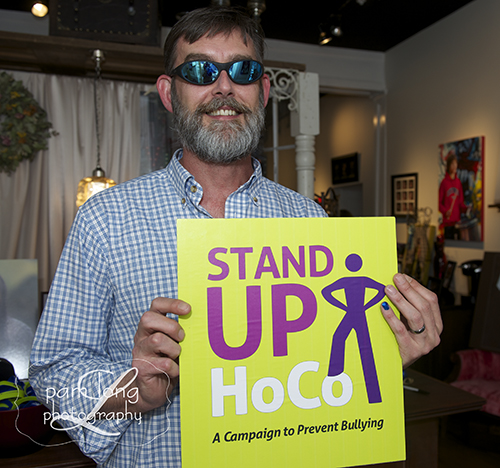 Blue PInky Stand Up HoCo Howard County Photographer
