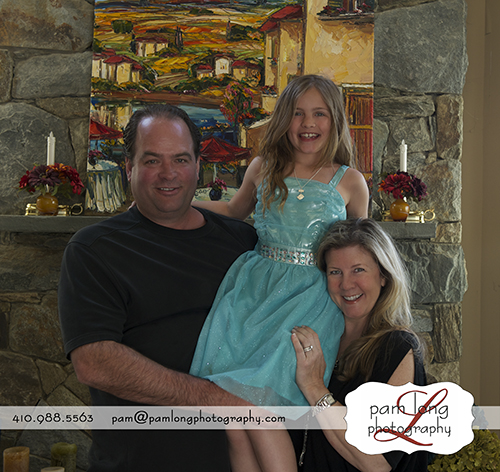 Casual family portrait Ellicott City photographer in Howard County MD