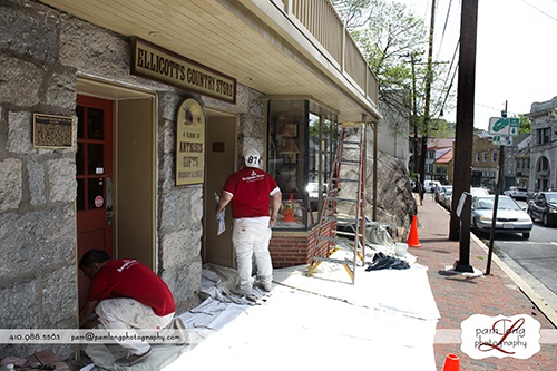 Historic Ellicott City Paint What Matters Howard County photographer