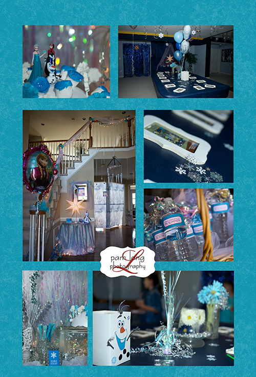 Brooke s frozen themed birthday party howard county event