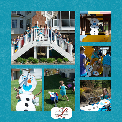 Olaf Frozen birthday party Ellicott City Photographer
