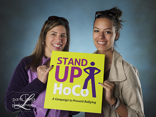 Stand Up HoCo Blue Pinky event Ellicott City photographer