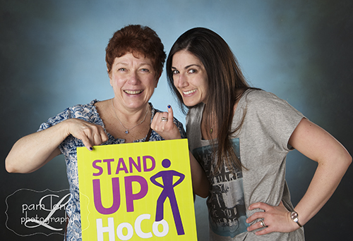 Stand Up HoCo Blue Pinky Promise Ellicott City photographer