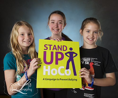 Young kids stand up to bullying Stand Up HoCo Ellicott City photographer