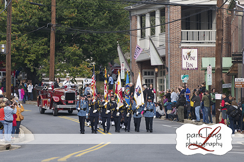 Ellicott City Fire Dept Parade magazine