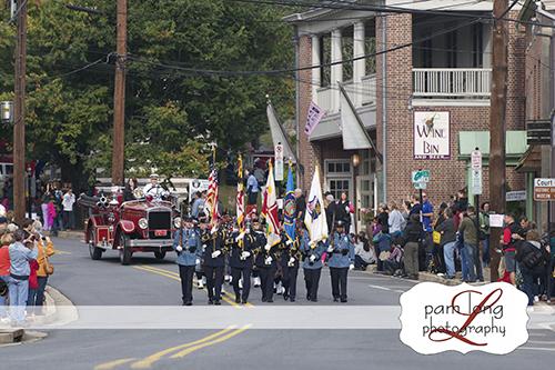 Ellicott City Fire Dept Parade magazine