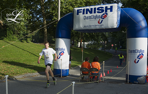 2 Miles for 2 Hearts Race Ellicott City photographer