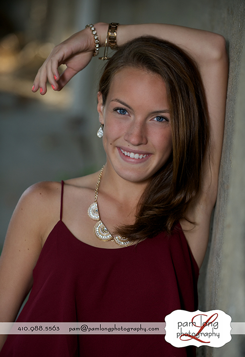 Fun and beautiful photography senior pictures Historic Ellicott City Maryland