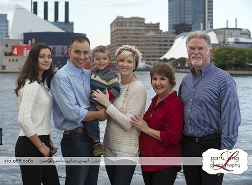 Howard County photographer Extended family portrait photographer Ellicott City MD