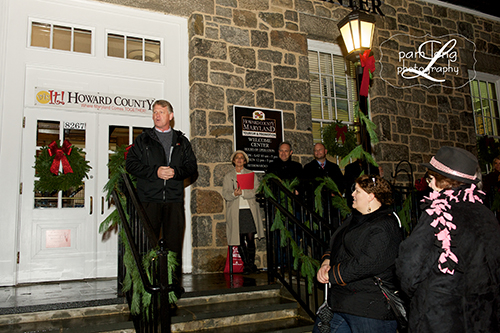 Christmas Tree Lighting Photographer Ellicott City