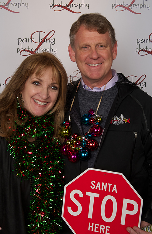 Howard County photographer Pam Long and Allan Kittleman