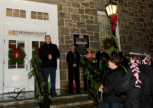 Tree lighting in Historic Ellicott City Jon Weinstein