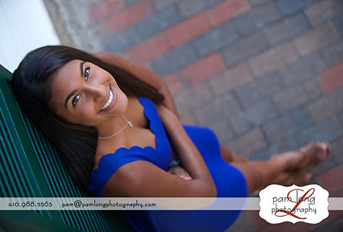 Creative High school senior portraits Ellicott City MD photographer