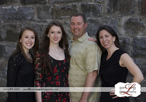 Family photographer Ellicott City Pam Long Photography