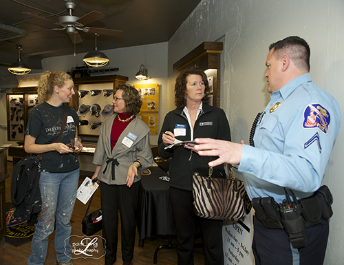 Howard County Visitor Center Police Museum Pam Long Photography studio Ellicott City