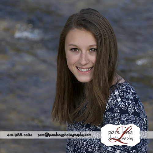 Teen photographer Historic Ellicott City MD Pam Long Photography studio