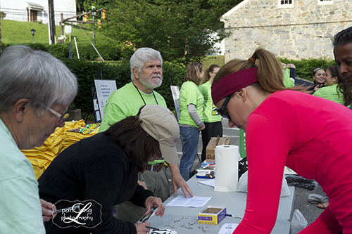 5K race Volunteers Ellicott City Pam Long Photography
