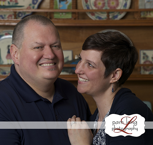 Couples portraits Tersiguels Pam Long Photography studio Historic Ellicott City