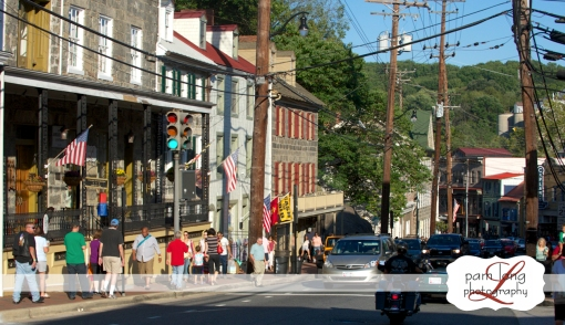 Ellicott City Main Street Howard House Pam Long Photography