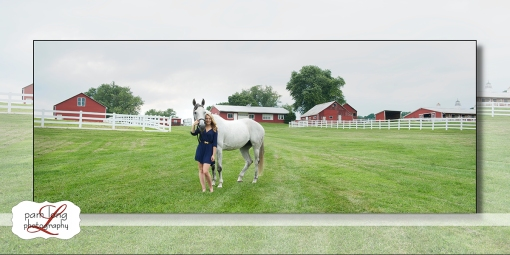 High school Senior Equestrian photographer Ellicott City Pam Long Photography studio Howard County Maryland