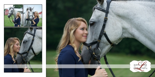 High school Senior Equestrian portrait photographer Ellicott City Pam Long Photography studio Howard County Maryland