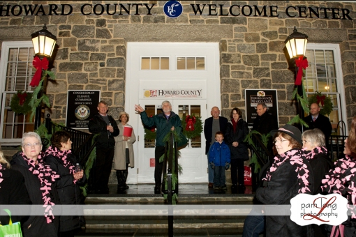 MIdnight Madness Tree Lighting Historic Ellicott City Pam Long Photography