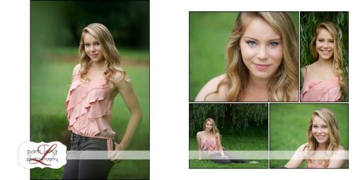 Outdoor High School Senior Portrait photographer Ellicott City Pam Long Photography studio