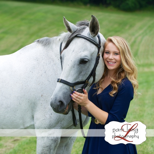 Outdoor Senior Portrait photographer Ellicott City Pam Long Photography studio