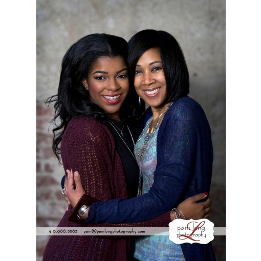 Mother daughter photographer Howard County Maryland Pam Long Photography studio Ellicott City Maryland