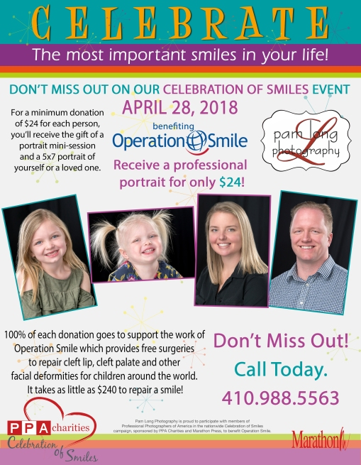 Pam Long Photography Operation Smile 2018